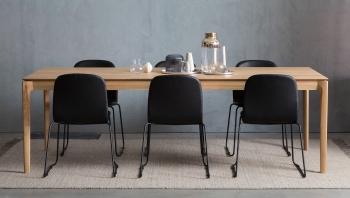 Ethnicraft designové jídelní rozkládací stoly Bok Dining Table (140/220 x 90 cm)