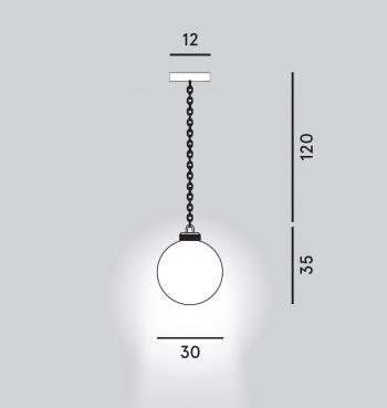 Diesel with Foscarini designová závěsná svítidla Wrecking-Ball