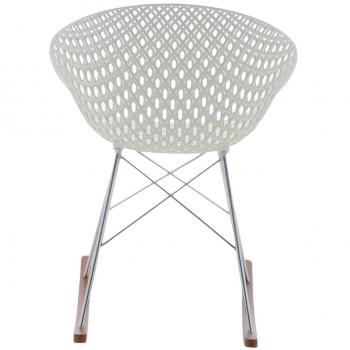 Kartell designová houpací křesla Smatrik Rocking Chair
