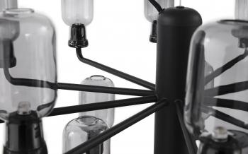 Normann Copenhagen designová závěsná svítidla Amp Chandelier Small