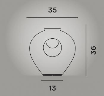 Foscarini designové stolní lampy Madre