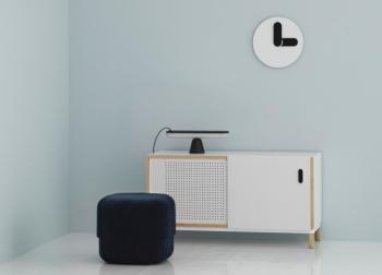 Normann Copenhagen designové nástěnné hodiny Bold Wall Clock