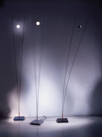 Ingo Maurer designové stojací lampy Ilios