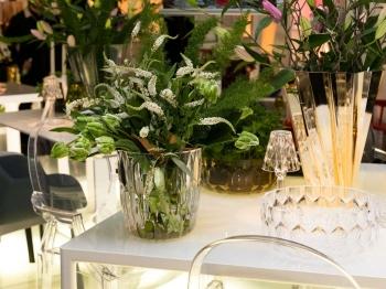 Kartell designové vázy Jelly Vase