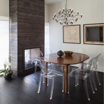 Kartell designové židle Louis Ghost