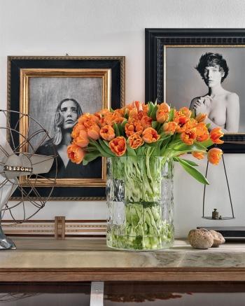 Kartell designové vázy Matelassé