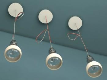 Ingo Maurer designová závěsná svítidla Johnny B. Good