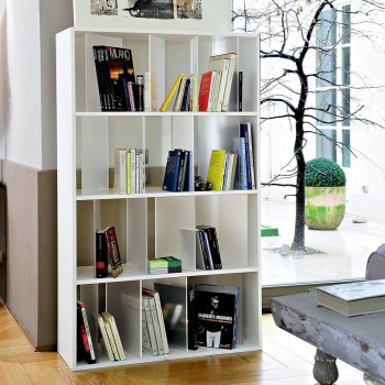 Kartell designové knihovny Sundial