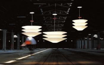Ingo Maurer designová závěsná svítidla Floatation 1