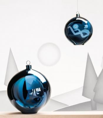 Alessi designové vánoční ozdoby Blue Christmas 4