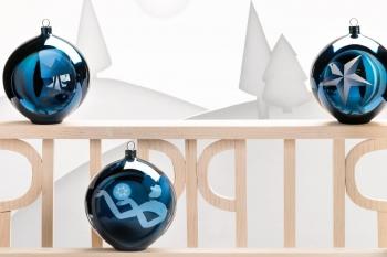 Alessi designové vánoční ozdoby Blue Christmas 6