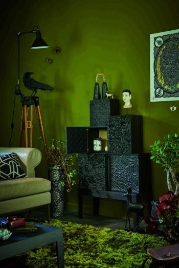 Ibride designové dekorace Ravens Gustav