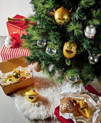 Alessi designové vánoční ozdoby Melchiorre