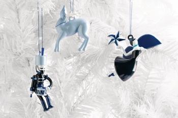 Alessi designové vánoční ozdoby Blue Christmas 9