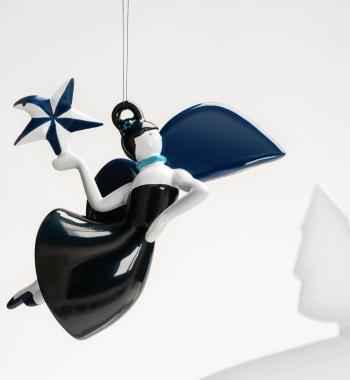 Alessi designové vánoční ozdoby Blue Christmas 8