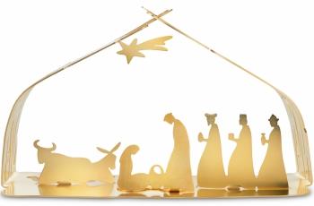 Alessi designové vánoční betlémy Bark Crib