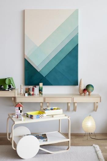 Vitra designové stolní lampy Akari 1N