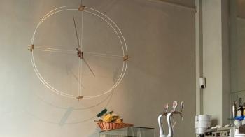 Nomon designové nástěnné hodiny Delmori
