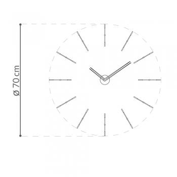 Nomon designové nástěnné hodiny Mini Merlin 4