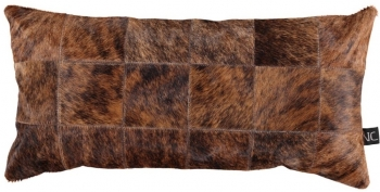 Natures Collection designové kožešinové polštáře Cow Hide (40 x 40 cm)