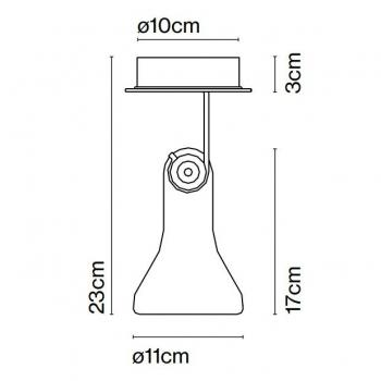 Marset designová nástěnná svítidla Atlas