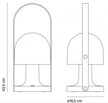 Marset designové stolní lampy Followme