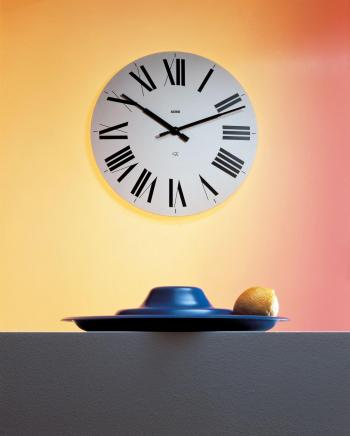 Alessi designové nástěnné hodiny Firenze