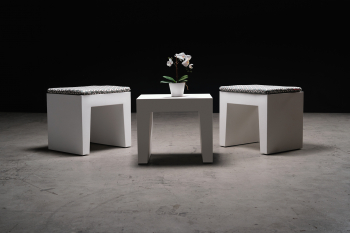 Designové odkládací stolky FATBOY Concrete Seat