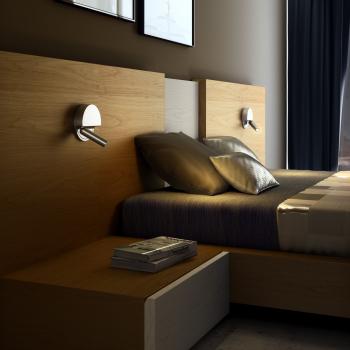 Marset designová nástěnná svítidla Ledtube R Left