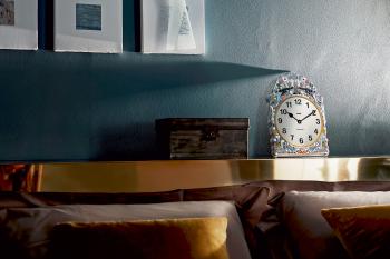 Alessi designové nástěnné hodiny Comtoise