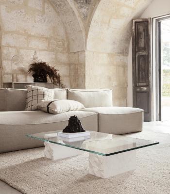 Ferm Living designové konferenční stoly Mineral Table