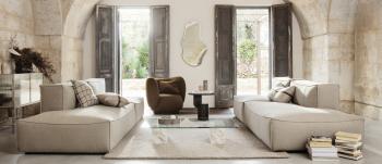 Ferm Living designová zrcadla Pond Mirror