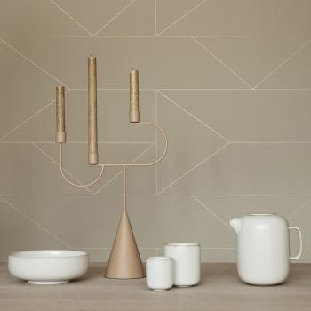 Ferm Living designové svícny Avant Candelabra