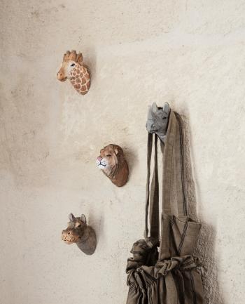 Ferm Living designové nástěnné věšáky Animal Cheetah