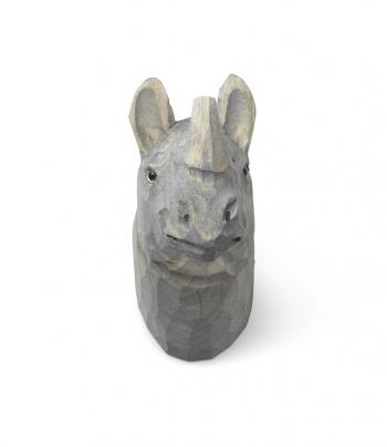 Ferm Living designové nástěnné věšáky Animal Rhino