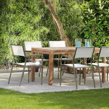 Jan Kurtz designové zahradní stoly Samoa Table (150 x 75 x 75 cm)