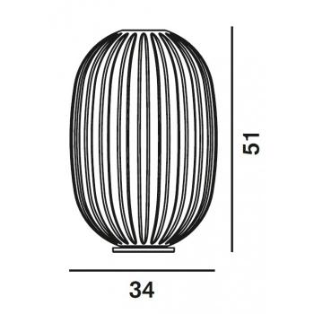 Foscarini designové stolní lampy Plass Tavolo