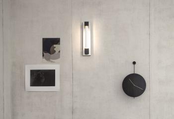 Ferm Living designové nástěnné hodiny Trace