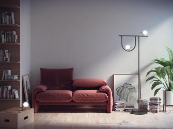 Artemide designové stojací lampy Yanzi Floor