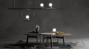 Artemide designové stolní lampy Yanzi Table