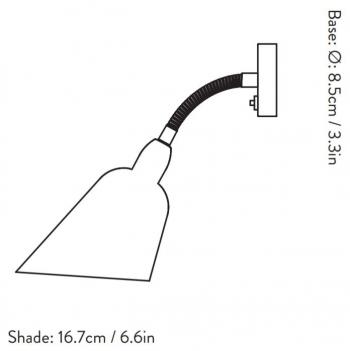 &tradition designová nástěnná svítidla Bellevue Wall AJ9