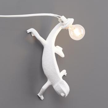 Seletti designová nástěnná svítidla Chameleon Lamp Going Down