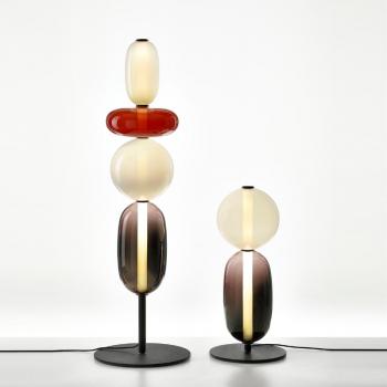 Bomma designové stojací lampy Pebbles Floor Small