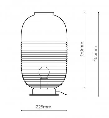 Bomma designové stolní lampy Lantern Table