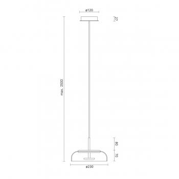 Nuura designová závěsná svítidla Blossi Suspension