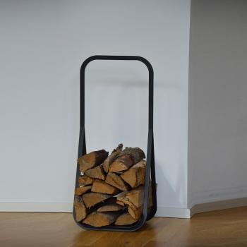 Jan Kurtz designové zásobníky na dřevo Frame