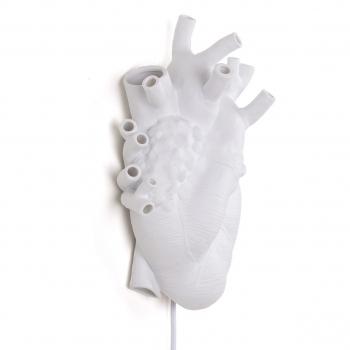 Seletti designové nástěnné svítidlo Heart Lamp