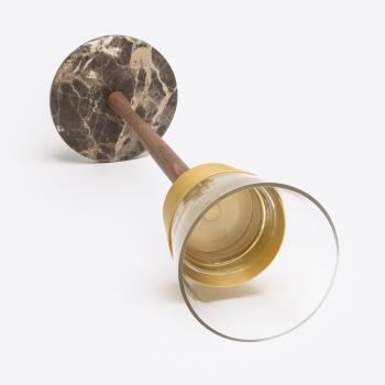Výprodej Nomon designové chladiče na víno/ šampaňské Champagnera (mosaz, ořech)