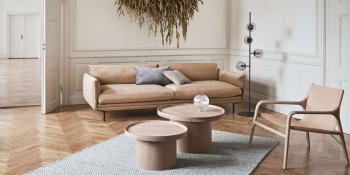 Bolia designové konferenční stoly Plateau Coffee Table Medium (průměr 61 cm)