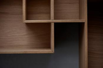 Bolia designové nástěnné police Quadro 2 Shelf